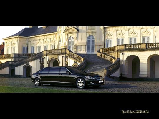 2008 Mercedes-Benz S 600 Guard Pullman