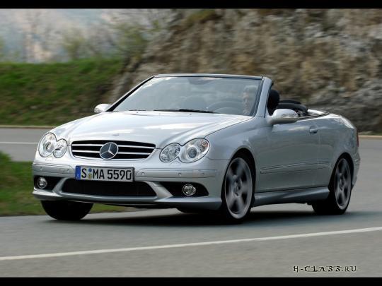 2007 Mercedes-Benz CLK 500 Cabriolet